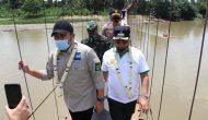Permalink ke Herman Deru Rencanakan Bangun Jembatan Gantung Desa Ujan Mas Menjadi Jembatan Permanen