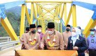 Permalink ke HD Resmikan Jembatan Bukit Sulap Lingkar Barat Kota Lubuklinggau