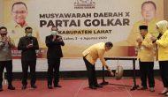 Permalink ke Musda ke-X Partai Golkar Lahat Dimulai, Ketua Terpilih Harus Dukung Program Bupati