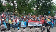 Permalink ke Aksi Buruh Menolak UU Cipta Kerja Juga Pecah di Kabupaten Lahat