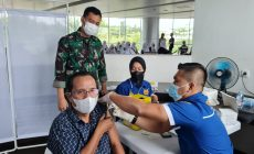 Permalink ke Warga Antusias, Ikuti 'Serbuan Vaksin' Lanud SMH Palembang