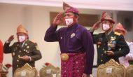 Permalink ke Kenakan Baju Adat, Gubernur Sumsel Upacara HUT RI Bersama Presiden Secara Virtual