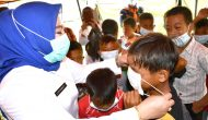Permalink ke Selain Bantuan Sembako, Anak-anak Korban Kebakaran Diberikan Trauma Healing