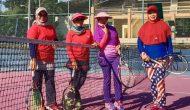 Permalink ke Ibu-ibu dari Lahat dan Muara Enim, Adu Kemampuan di Lapangan Tenis