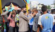 Permalink ke Kapolres Lahat dan Jajaran Bagikan Masker di PTM Square