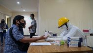 Permalink ke Difasilitasi Gubernur, Sejumlah Wartawan di Palembang Lakukan Rapid Test